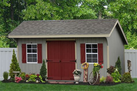 classic amish sheds in wood and vinyl siding buy amish sheds in pa direct from the pa based