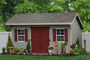 classic amish sheds in wood and vinyl siding buy amish With amish garages for sale