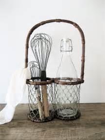 Wire Basket Kitchen Utensil