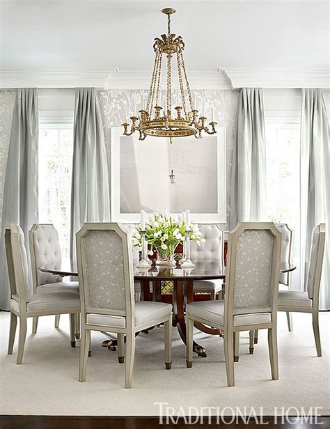 Calm Traditional Yet Design by New Home With Calm Colors Delicious Dining Rooms