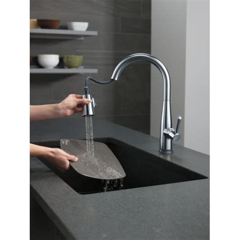 delta touch faucet light not working delta 9113t dst essa pull kitchen faucet with on