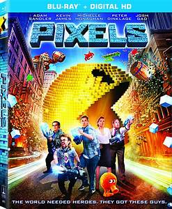 Pixels DVD Release Date October 27, 2015