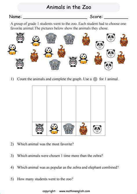 count  animals sort   complete  picture