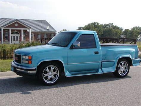 Purchase Used 1994 Gmc 1500 Sierra Step Side (1 Owner