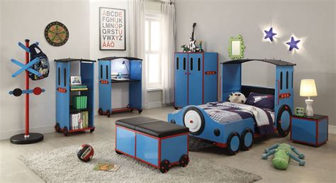 Simple Blue Color Kids Room Designs And Ideas