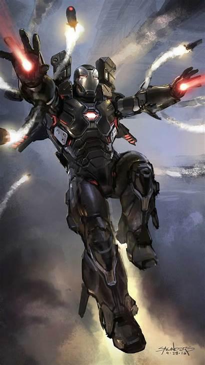 War Machine Avengers Endgame Iphone Concept Iron