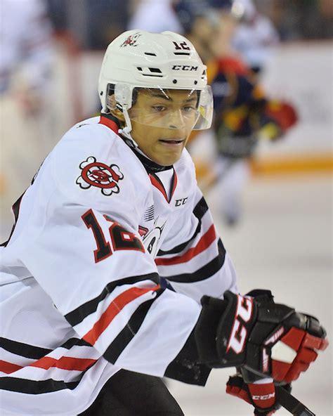 Akil Thomas | TheColorOfHockey