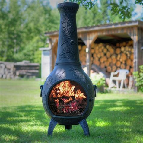 Best Fuel For A Chiminea by Best Chiminea For The Backyard Jul 2019