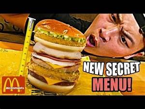 DIY MCDONALDS ALL DAY BREAKFAST/LUNCH SECRET MENU! (Food ...