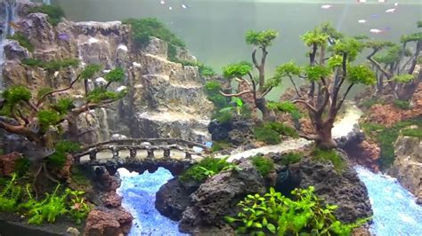 Waterfall Aquascape by Amazing Aquascape By Khenzo Alviano Its Not All About