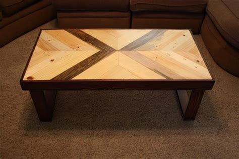 recycled pallet chevron coffee table pallet furniture plans