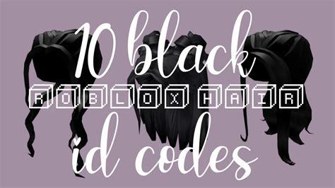 Roblox hair codes for boys. 10 black roblox hair id codes   bvbylou - YouTube