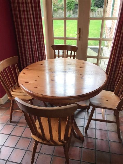 solid wood kitchen table and chairs dining kitchen table solid wood pine 4 chair m s in
