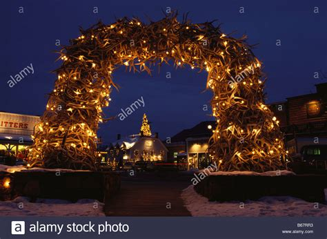 Antler Arch Stock Photos And Antler Arch Stock Images Alamy