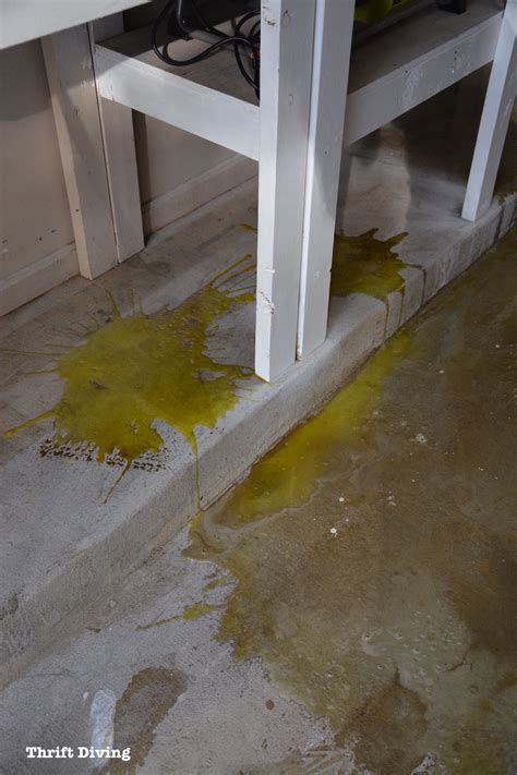 garage floor paint not sticking how to paint garage floors with 1 part epoxy paint