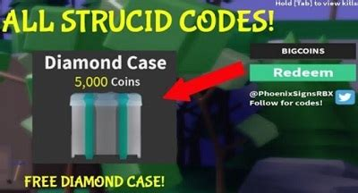 strucid codes easy robux today