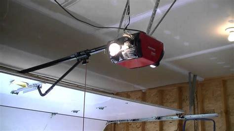 craftsman die hard garage door opener update youtube
