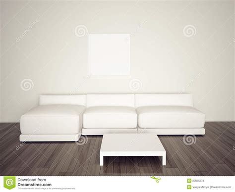 Couch With Sofa Bed by Minimal Blank Interior Couch Royalty Free Stock Photos