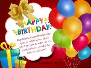 Happy Birthday Wishes Him