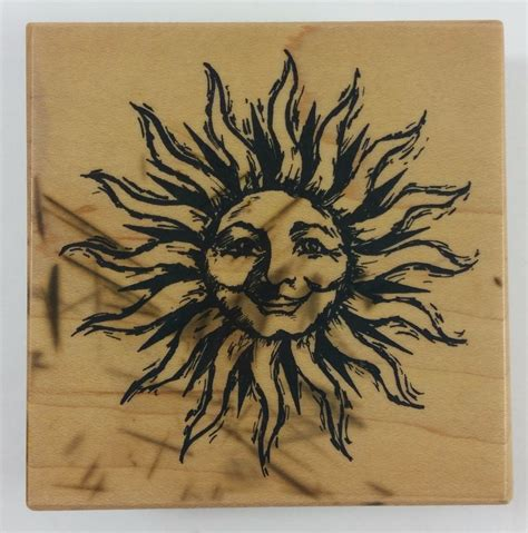 1998 PSX Rubber Stamp CELESTIAL SUN Face #G-2556 RARE #PSX ...