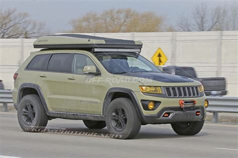 jeep grand cherokee overlander concept slated