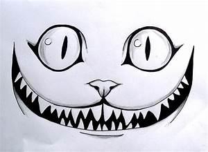 Chat D Alice Au Pays Des Merveilles : le chat des merveilles dessin crayon drawing aliceinwonderland cat smile dessins au ~ Medecine-chirurgie-esthetiques.com Avis de Voitures