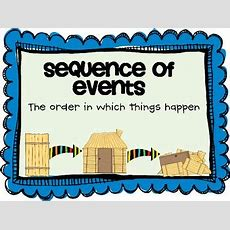 Comprehension Practice Sequence Of Events By Teaching With A Cup Of Tea
