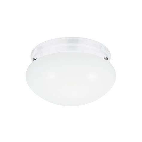 kitchen led lighting sea gull lighting webster 1 light white flushmount with 2135