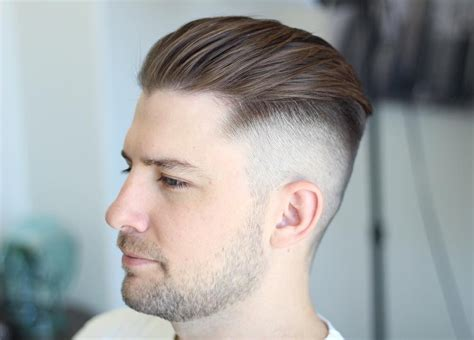 trending undercut hairstyle  men