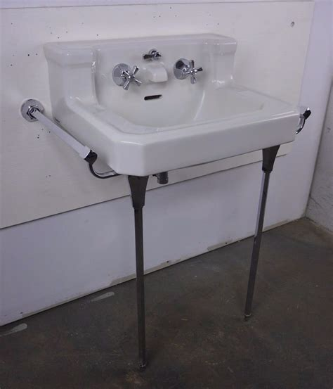 1940s Bathroom Sink by Details About Antique Vintage American Standard White