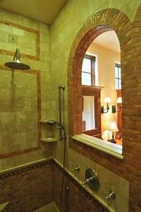 New Tuscan Bathroom Design