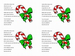 Candy Cane Poem about Jesus (Free Printable PDF Handout ...