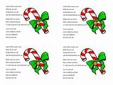 Candy Cane Poem about Jesus (Free Printable PDF Handout ...