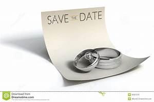 Wie Schreibt Man Engagement : save the date rings and note stock illustration illustration 35327370 ~ Yasmunasinghe.com Haus und Dekorationen