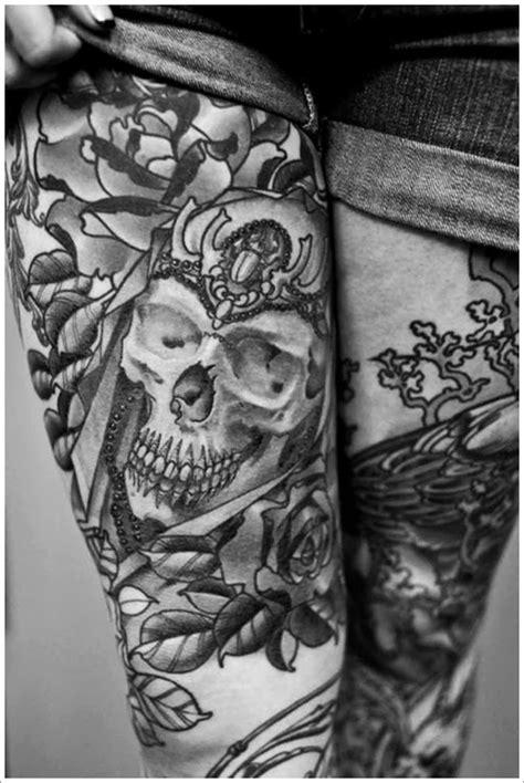 Best Tattoo Design Ideas: Cute Thigh Tattoos For Women