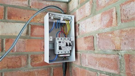 Crabtree Garage Consumer Unit Wiring Diagram List