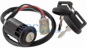 Ignition Key Switch Honda Trx450er 2007