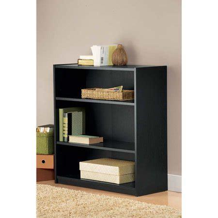 mainstays 5 shelf bookcase mainstays 3 shelf bookcase black walmart