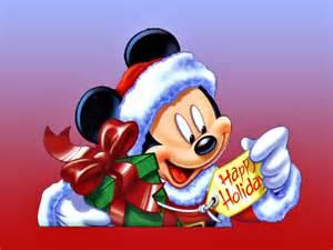 Mickey Mouse Happy Holidays