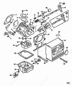 Mercury  Mariner 30 2 Cyl   Carburetor