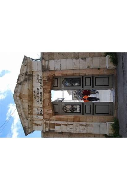 Caiaphas Zion Armenian Biblewalks Gate Higher Resolution