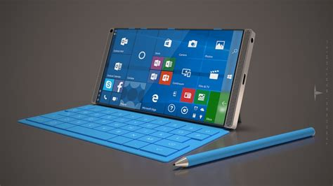 microsoft surface phone concept by bartlomiej tarnowski gives windows 10 mobile buffs