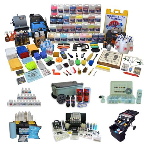 auto detailing start  kits   detailing business