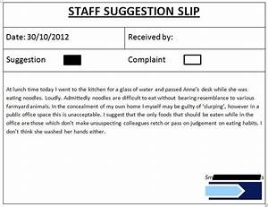 word employee suggestion form template - office suggestion box a foolproof system theth0ughtpolice