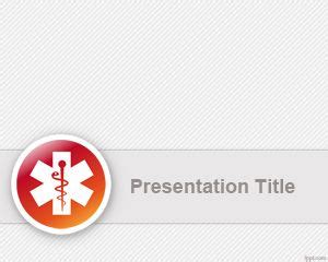 healthcare powerpoint template   clean medical