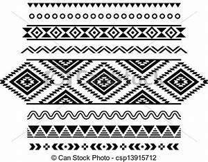 Aztec Print Clipart