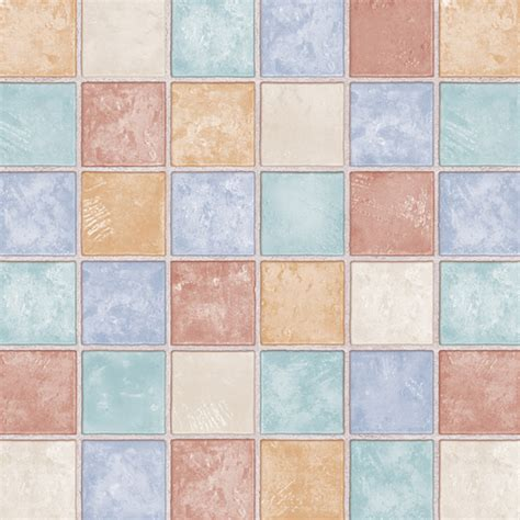 francis tile effect self adhesive wallpapers