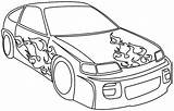 Coloring Race Printable sketch template