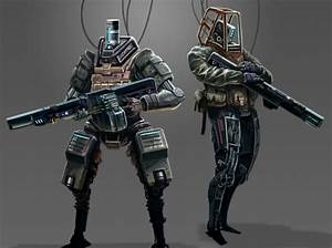 Robot Soldiers Art images