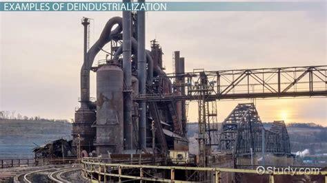 deindustrialization definition examples